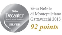 Decanter 2016 - 92 points